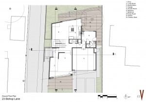 Plan Front House